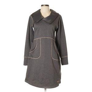 Cabela's Gray Active Long Sleeve Sweater Dress- XL